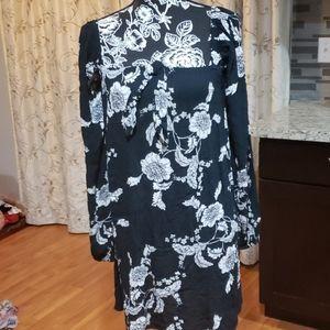 Billabong Women's Spring Long Sleeves Mini Dress